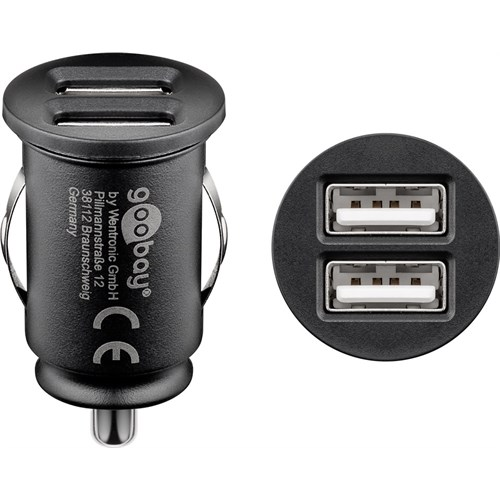 4.8 A dual USB car charger